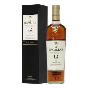 ウイスキー ザ マッカラン 12年 40度 正規 箱付 700ml シングルモルト 洋酒 whisk...