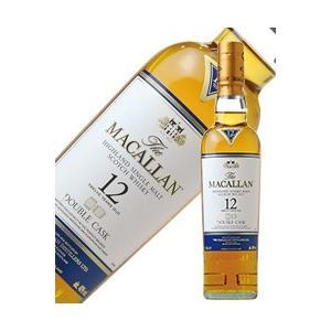 ウイスキー ザ マッカラン(ザ マッカラン) ダブルカスク 12年 40度 正規 350ml シングルモルト 洋酒 whisky