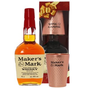 ウイスキー メーカーズマーク ケンタッキー ストレート バーボン ウイスキー タンブラー付き 45度 正規 700ml バーボン 洋酒 whisky|酒類の総合専門店 フェリシティー