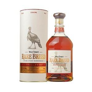 ウイスキー ワイルドターキー レアブリード 58.4度 正規 箱付 700ml バーボン 洋酒 wh...