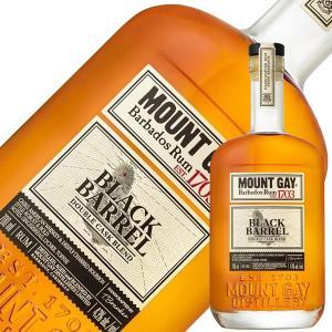 ラム マウントゲイ ブラック バレル 43度 正規 700ml スピリッツ rum