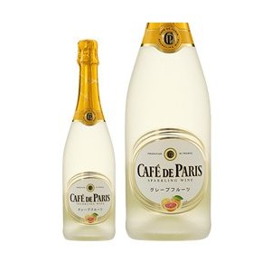 スパークリングワイン フランス カフェ ド パリ グレープフルーツ 正規 750ml sparkling wine e-felicity