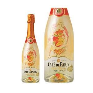 スパークリングワイン フランス カフェ ド パリ トロピカル マンゴー 正規 750ml sparkling wine e-felicity
