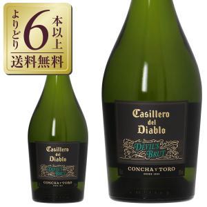 スパークリングワイン チリ コンチャ イ トロ カッシェロ デル ディアブロ デビルズ ブリュット 750ml sparkling wine|e-felicity