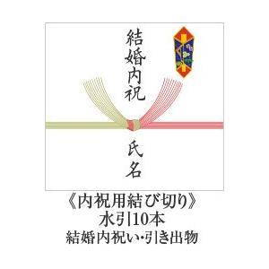 熨斗【内祝用結び切り 水引10本】 結婚内祝い 引き出物 用|e-felicity