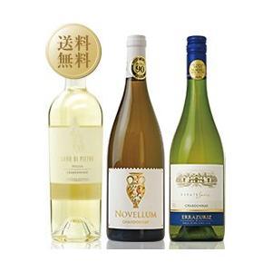 白ワインセット 極旨白ワイン シャルドネ飲み比べ 3本セット 第12弾 750ml×3 送料無料 wine set e-felicity
