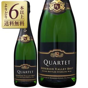 スパークリングワイン アメリカ ロデレール エステート カルテット アンダーソン ヴァレー ブリュット 750ml sparkling wine|e-felicity