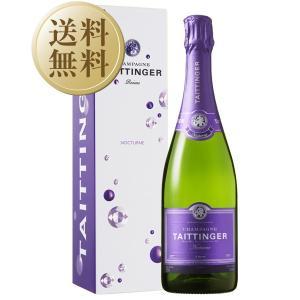シャンパン フランス シャンパーニュ テタンジェ ノクターン セック 正規 箱付 750ml cha...