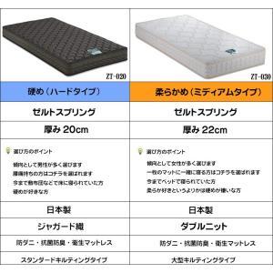 カンティーニュベッド クラシック・アンティーク風ホワイトシングルベッド kobo ノーマルタイプ マット付き 日本製 e-flat 06