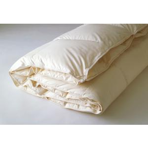 日本ベッド/ロイヤルデュアルフォーター93羽毛布団/オールシーズン/羽毛ふとん/羽毛布団/シングル/ダウンキルト|e-flat