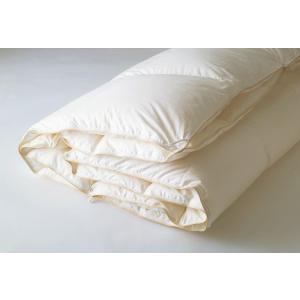 日本ベッド/プレミアムデュアルフォーター95羽毛布団/オールシーズン/羽毛ふとん/羽毛布団/シングル/ダウンキルト|e-flat