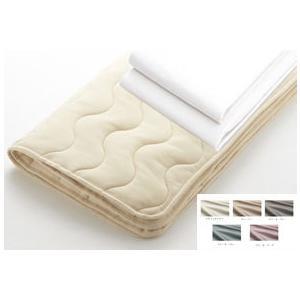 日本ベッド セミダブル スタンダードリフレカ ベッドパッド メーキングセット|e-flat