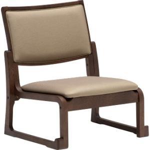 カリモクCS4607 低いロータイプ 高座椅子 畳にも使える高座椅子 スタッキング可能 チェア 合成皮革張 和室 日本製家具|e-flat