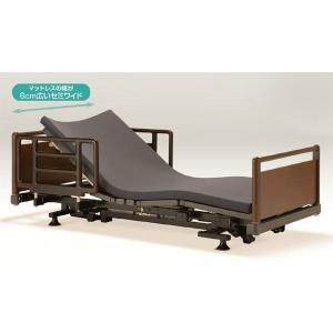 ヒューマンケアベッドシリーズサイドアップ低床セミワイドタイプ/FBN-PJJ-SUSW R20/3モーター/シングル/フランスベッド介護電動リクライニングベッド e-flat