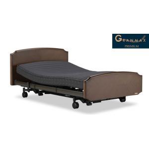 グランマックスGX-02F 2M 2モーター シングル フランスベッド天然木高級電動リクライニングベッド e-flat