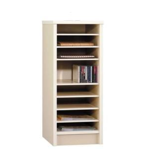 日本製 カラーボックス ニューコスモス337 書類棚 アイボリー|e-flat