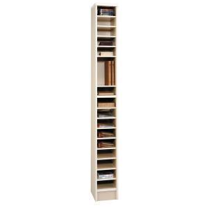 日本製 カラーボックス ニューコスモス338 書類棚 アイボリー|e-flat