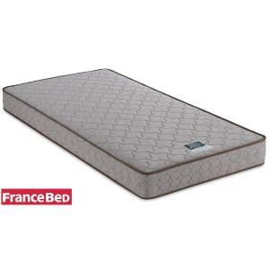 フランスベッド ZT-011 シングル ゼルトスプリングマットレス ハード硬め 高密度連続スプリング 日本製寝具|e-flat