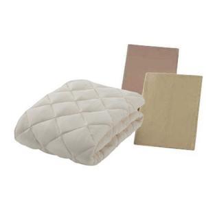 フランスベッド ソロテックスベッドパット セレクト3点パック ワイドダブル ベッドメーキング|e-flat