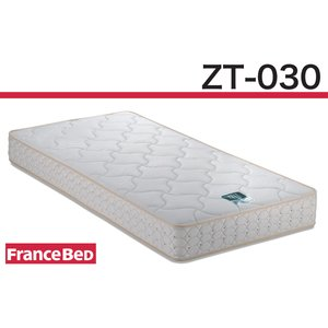 フランスベッドZT-030/セミダブルマットレス/ゼルトスプリング/日本製寝具/ハード/硬め|e-flat