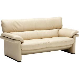 カリモクZU34モデル ZU3412 2人掛け椅子ロング 2Pソファ 本革チェア ラブソファ クールスタイリッシュデザイン アーバンスタイル 日本製家具|e-flat