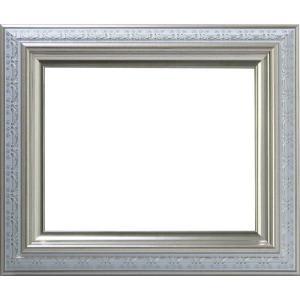 額縁 フレーム デッサン額縁 9586ホワイト/シルバー インチサイズ(254×203mm) 前面ガラス仕様