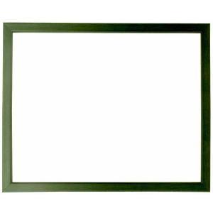 額縁 フレーム デッサン額縁 歩-7/グリーン 八つ切サイズ(303×242mm)専用 前面ガラス仕様