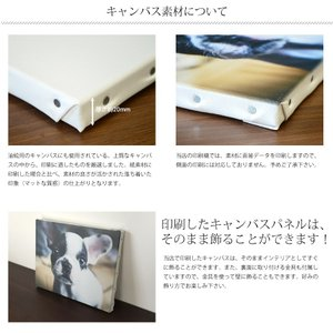 キャンバスプリント F4サイズ(333×242mm) 名入れ(文字入れ)無料 インテリア/フォトパネル/結婚式/ウェルカムボード/キャンバス写真印刷|e-frame|03