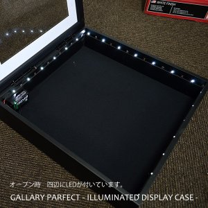 【送料無料】【アウトレット】ギャラリーパーフェクト LEDシャドーボックス額縁 356×356mm マット付き ※在庫限り※ 【GP-LT356】|e-frame|03
