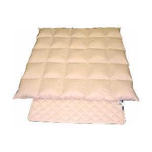 ベット用羽毛掛・羊毛パットセット /シングルロング e-futon