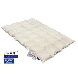 ダウンベッドパッド スノーホワイト /ダブルサイズ e-futon