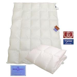 フランス産ホワイトダウン90%羽毛肌ふとん /シングル (ホワイト)|e-futon