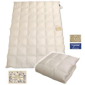 ポーランドホワイトグース93%羽毛肌ふとん /シングル スノーホワイト300双|e-futon