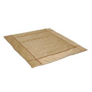 ベロアこたつ敷ふとん *アルミ蒸着シート入り /正方形|e-futon