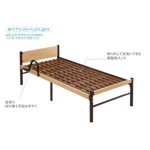 西川の介護用ベッド 楽々アシストベッドLight|e-futon