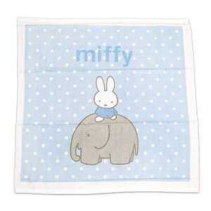 miffy ベビー湯上げタオル #ミッフィーBRエレファント e-futon