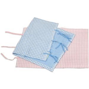 綿ガーゼパイル リバーシブル枕カバー 45×75cm|e-futon