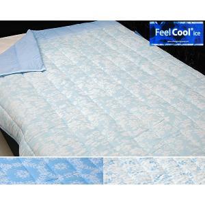 FeelCool 接触冷感キルトケット /シングル|e-futon