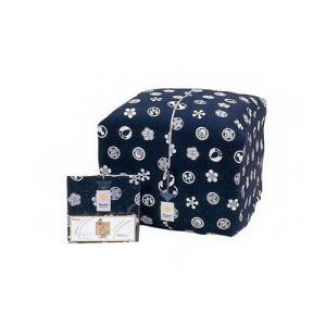 座布団袋 綿100% #利休梅 /八端判用 e-futon
