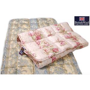 羊毛敷ふとん やわらかタイプ /シングル e-futon