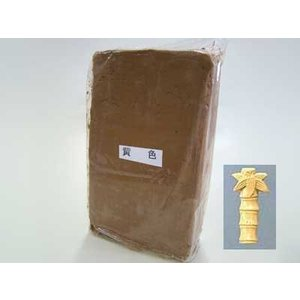 陶芸 粘土/カラー粘土 黄色 1kg|e-gazai-tougei