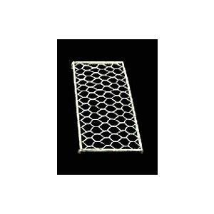 陶芸/万能釉バサミ G-1用 網台 20cm×10cm|e-gazai-tougei