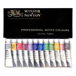 ウィンザー&ニュートン水彩絵具セット  12色セット|e-gazai-tougei