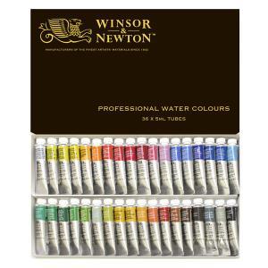 ウィンザー&ニュートン水彩絵具セット  36色セット|e-gazai-tougei