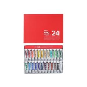 ホルベイン水彩絵具セット(5号チューブ) 24色|e-gazai-tougei
