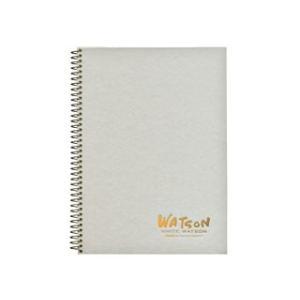 ホワイトワトソンブックHW-2404 239g 特厚口 水彩紙 F4 15枚