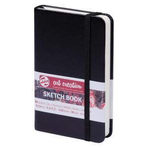 ターレンス アートクリエーション スケッチブック 9×14黒 e-gazai-tougei
