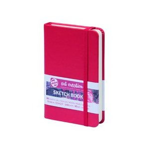 ターレンス アートクリエーション スケッチブック 9×14赤 e-gazai-tougei