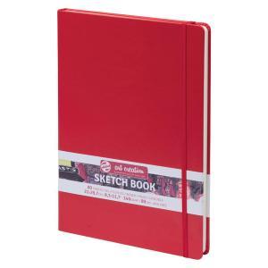ターレンス アートクリエーション スケッチブック 21×30赤 e-gazai-tougei