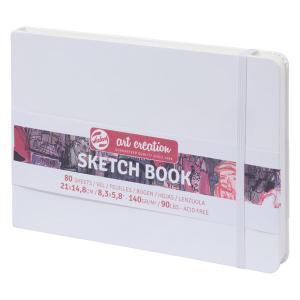 ターレンス アートクリエーション スケッチブック 21×15白 e-gazai-tougei